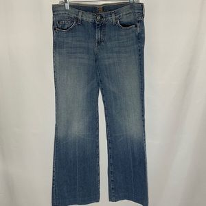 7 for all Mankind wide leg jeans, size 30